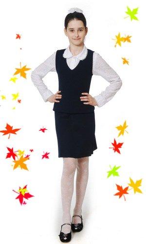 Школьная юбка А-627а